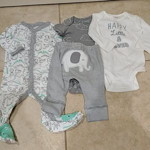 NWT Lot of Carter's clothing
